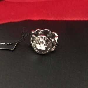 NWT Marc Jacobs Silver Ring